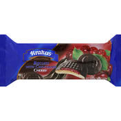 Krakus Biscuits, with Chocolate, Cherry
