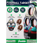 Franklin`s Teleme Football Target, Inflatable
