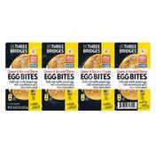 Three Bridges Cheese & Uncured Bacon Egg Bites