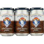 Cascade Lakes Beer, Salted Caramel Porter
