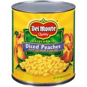 Del Monte California Diced Yellow Cling in Light Syrup Peaches