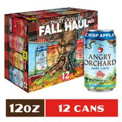 Angry Orchard Hard Cider Fall Haul Mix Variety Pack, Spiked
