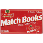 Our Family Match Books