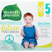 Seventh Generation Diapers, 5 (27-35 lbs)