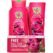 Herbal Essences Color Treated Herbal Essences Color Me Happy Hair Shampoo for Color-Treated Hair 23.7 Fl Oz and Conditioner 10.1 Fl Oz Female Hair Care
