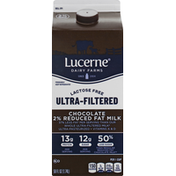 Lucerne Milk, Lactose Free, 2% Reduced Fat, Ultra-Filtered, Chocolate
