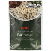 Hy-Vee Parmesan Fettuccine & Spinach Pasta In A Creamy Parmesan Cheese Sauce