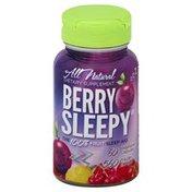 Berry Sleepy Sleep Aid, The 100% Fruit, 560 mg, Vegetarian Capsules