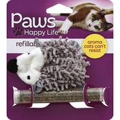 Paws Happy Life Catnip Toy, for Cats, Refillable