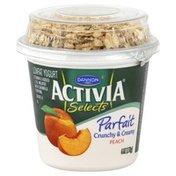 Dannon Yogurt, Lowfat, Parfait, Peach