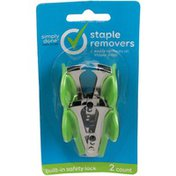 Simply Done Staple Removers