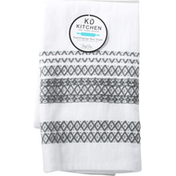 KD Kitchen Terry Towel, Dual Purpose, Graphite