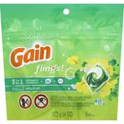 Gain Detergent, 3 in 1, Original, Pacs