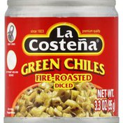 La Costeña Green Chiles, Diced, Fire-Roasted