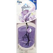 Glade Air Fresheners, Lavender & Vanilla, 3 Pack