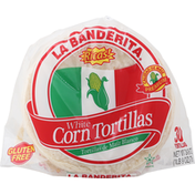 La Banderita Corn Tortillas, White