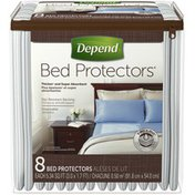 Depend Disposable Bed Protectors