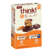 think! High Protein Bars, Variety Pack
