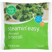 Food Club Steamin' Easy, Chopped Broccoli