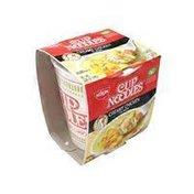 Nissin Cup Noodles Creamy Chicken Flavor Ramen Noodle Soup, Case
