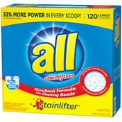 All Stainlifter Micro-Boost Formula with Cleaning Beads 120 Loads Laundry Detergent