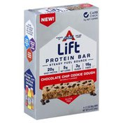 Atkins Lift Chocolate Chip Cookie Dough Protein Bar