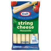 Kraft String Cheese Mozzarella Cheese Snacks