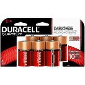 Duracell Quantum Duracell Quantum D Alkaline Batteries 6 count Primary Major Cells