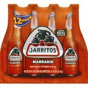 Jarritos Soda, Mandarin, 12 Pack