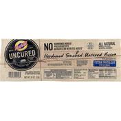 Hatfield Bacon, Uncured, Hardwood Smoked, Extra Thick Cut, Original