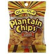 Ola Ola Plantain Chips, Sweet