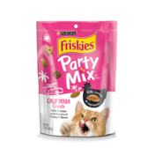 Purina Friskies Made in USA Facilities Cat Treats, Party Mix California Crunch With Chicken