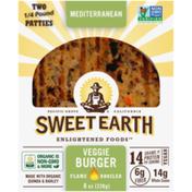 Sweet Earth Mediterranean Flame Broiled Veggie Burger