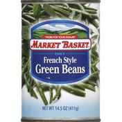 market basket Green Beans, French Style, Fancy