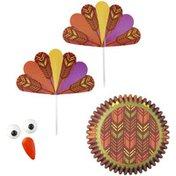 Wilton Thanksgiving Turkey Cupcake Decorating Kit