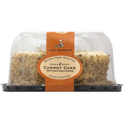 Just Desserts Carrot Cake, Whole Grain