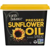Earth Balance Blended Spread, Pressed, Sunflower Oil