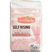 Our Family Self Rising Flour, Bleached