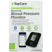 TopCare Deluxe Connect Bluetooth Blood Pressure Upper Arm Monitor