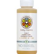 Baby Mantra Bubble Bath, Shampoo + Wash, 3-in-1, with Lavender Oil & Aloe