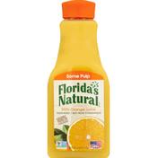 Florida's Natural 100% Juice, Orange, Some Pulp