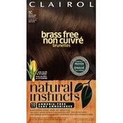 Clairol Natural Instincts Color, Ammonia Free, Medium Brown 5C