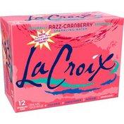 LaCroix Sparkling Water, Razz-Cranberry