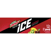 Mtn Dew Mtn Dew Ice  Soda Lemon Lime with Cherry 12 Fl Oz 12 Count Can