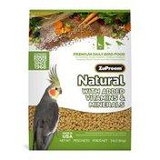ZuPreem Bird Food For Medium Birds With Added Vitamins, Minerals, Amino Acids