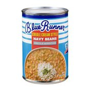 Blue Runner Foods Creole Cream Style Navy Beans, Creole Mirepoix Style