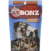 Purina Dog Snacks, Steak Shaped, Porterhouse Flavor