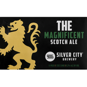 Silver City Beer, Scotch Ale, The Magnificent, 6 Pack