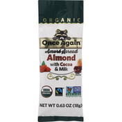 Once Again Amore Spread, with Cocoa & Milk, Organic, Almond