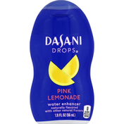 Dasani Water Enhancer, Pink Lemonade, Drops